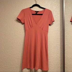 Pink/coral colored dress
